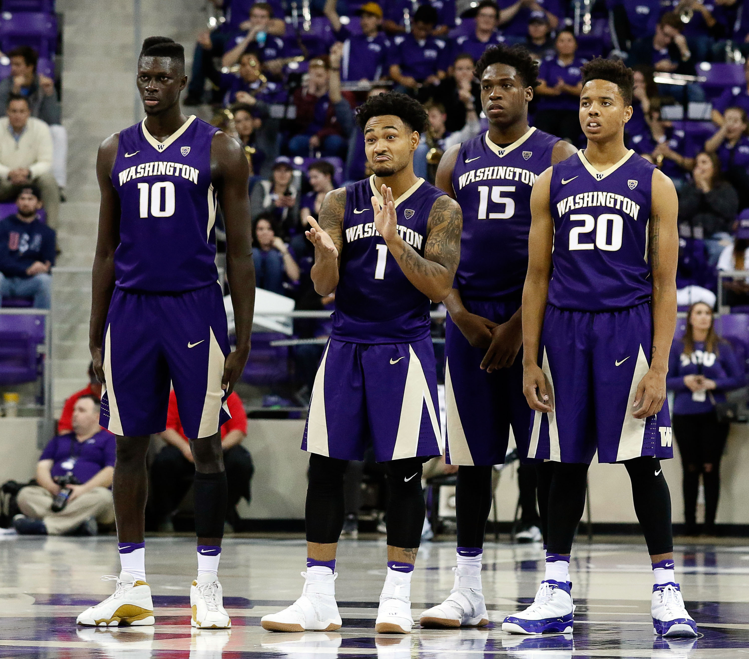 washington huskies mens basketball team hit .500 in three steps - page 2