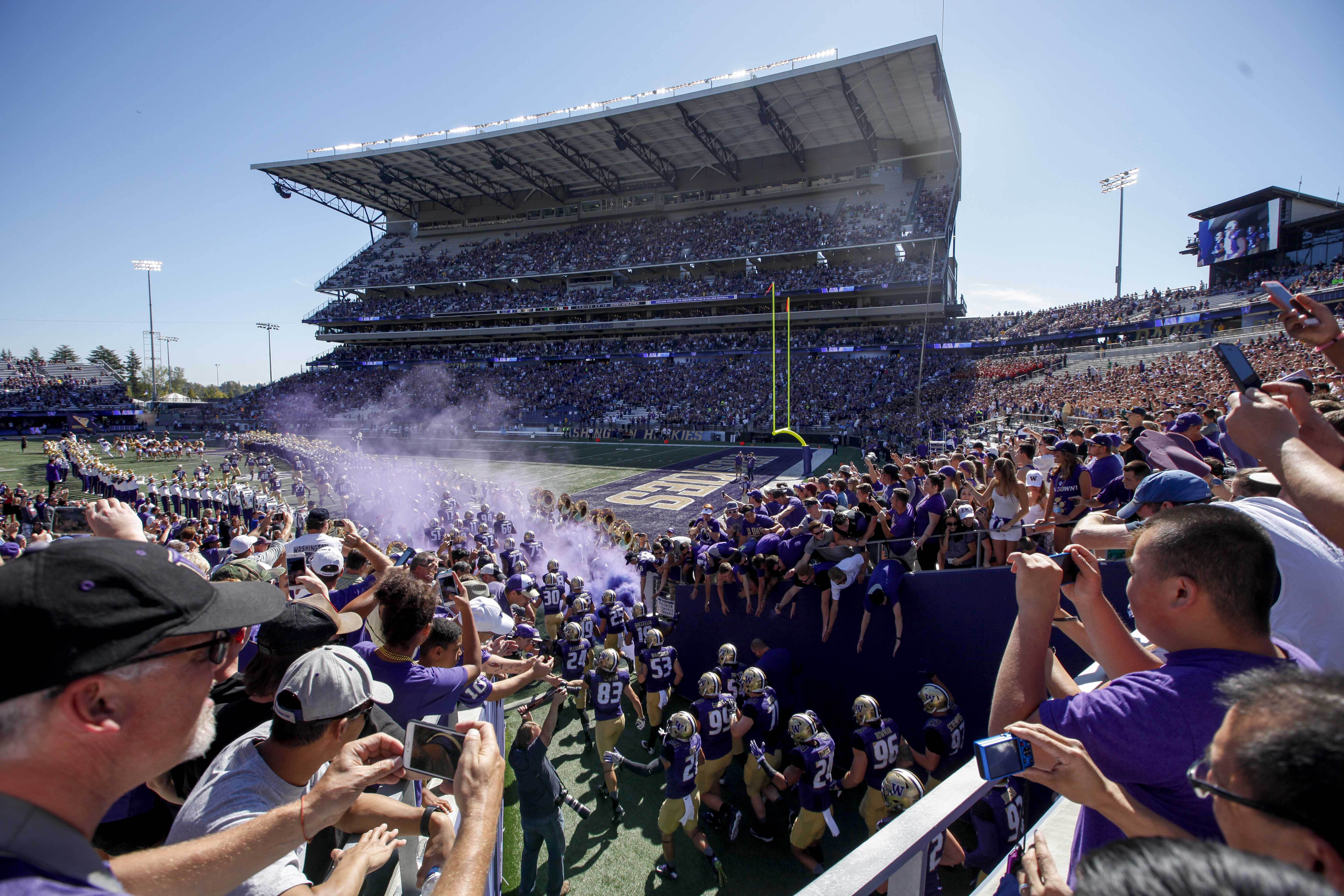 2017 Ncaa Football Ranking >> Ranking the greatest home field advantages in the Pac-12